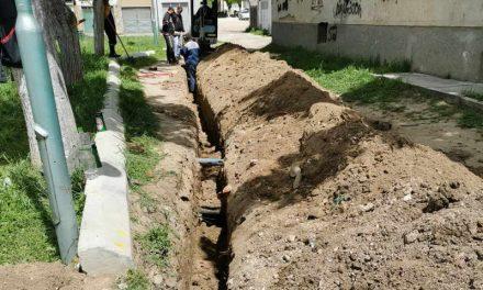 """Прилепски """"Водовод и канализација"""" ги привршува градежните зафати на новата канализациона линија на улица """"Бидимаж"""""""