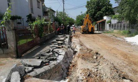 """Прилепски """"Водовод и канализација"""" ги привршува градежните зафати на новата водоводна линија на улица """"Октомвриска"""""""