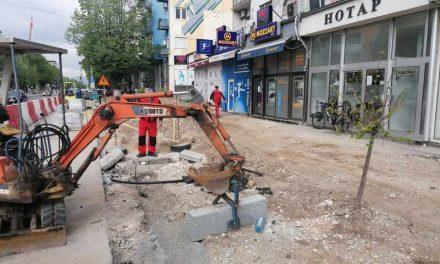 """Прилеп: Поставена нова водоводна линија на булеварот """"Гоце Делчев"""""""