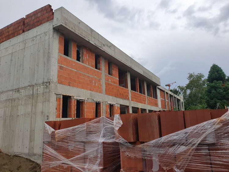 """Се гради училиштето """"Димитар Македонски"""" во населба Лисиче"""