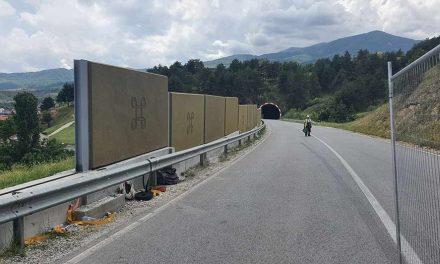 Сугарески-Китанов: Ја подобруваме безбедноста на патиштата, нова заштитна ограда на обиколница Битола