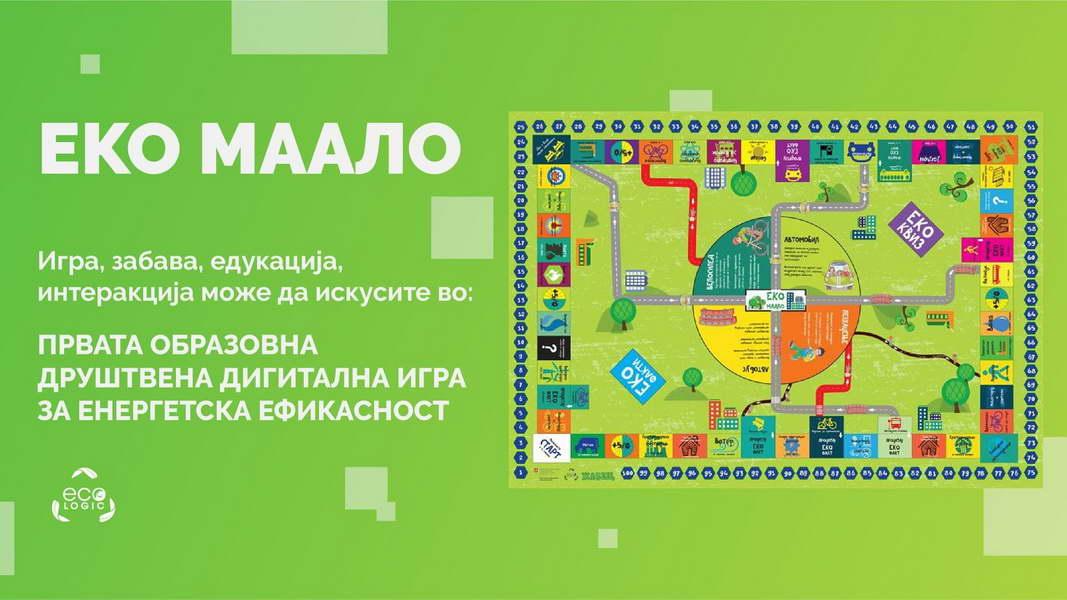 """Еко маало"" – онлајн друштвена игра за енергетска ефикасност на ""Еко Логик"""