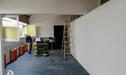 """Почна реновирањето на објектите на градинката """"Срничка"""" во Аеродром"""