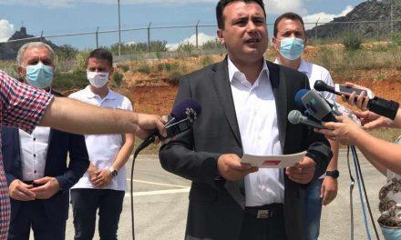 Заев од Прилеп: На 15 јули бираме обнова на патишта, а не обнова на режимот!
