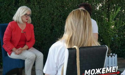 """Соња Мираковска, носител на листа на Коалицијата """"Можеме"""" во ИЕ 4, гостинка на Форумот на жени на ОО на СДСМ-Прилеп"""