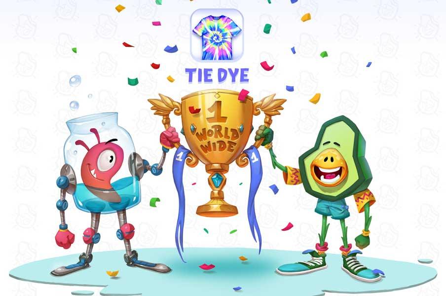 """Македонската игра """"Tie Dye"""" која е број еден во САД, наскоро ќе се лансира и на кинескиот пазар"""