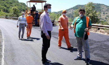 Почна асфалтирањето на регионалниот пат Лагово – Витолиште