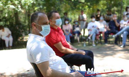 Филипче на средба со прилепските здравствени работници: Хероите се уморни, но не се откажуваат