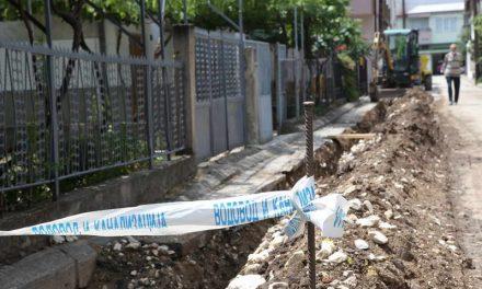 """Се менува водоводната мрежа на улицата """"Георге Георгиу – Деж"""" во населбата """"Ѓогдере"""""""