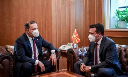 Заев од Спасовски ја презеде функцијата претседател на Владата