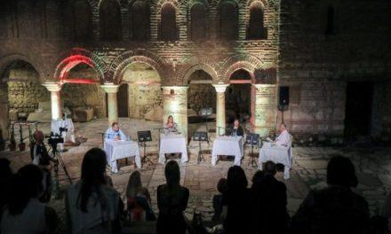 """Промовирана монографијата """"Фестивалска приказна"""" по повод 60-годишниот јубилеј на """"Охридско лето"""""""