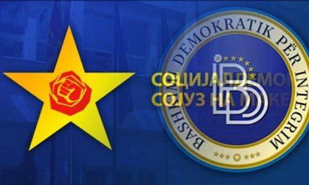 СДСМ и ДУИ ги договорија начелата за идната Влада