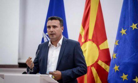 Заев по средбата со Ахмети: Постигнат е коалициски договор за создавање парламентарно мнозинство