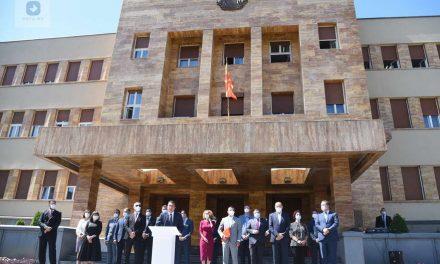 Заев го поднесе предлогот за новата влада, фокусот на работните места, ковид-19 и животната средина