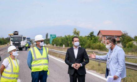 Бочварски: Градиме модерен и безбеден автопат на Коридор 10