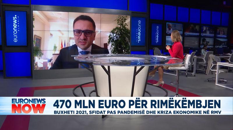 Бесими за Euronews Albania: Со унапредување на регионалната економска соработка до синергија во развојот