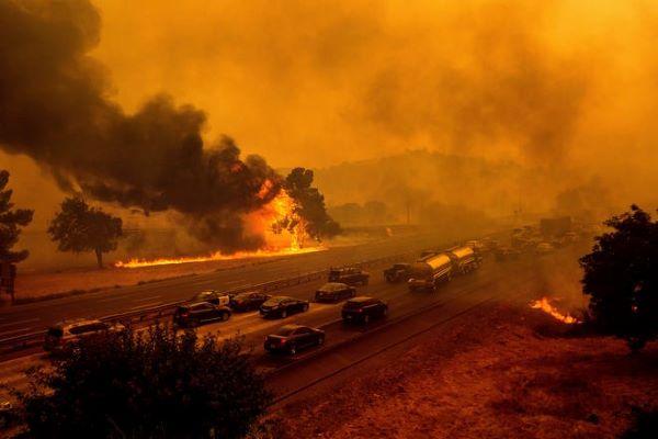 Најмалку 33 жртви во пожарите во САД