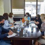 Средба на министерката Шахпаска со претставничката на УНИЦЕФ во земјава, Патриција ди Џовани: УНИЦЕФ е рамноправен партнер на земјава во унапредувањето и заштитата на правата на децата