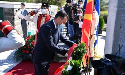 Заев од Куманово: Го славиме денот кога започна сенародната борба за слобода и правда
