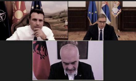 Вучиќ, Рама и Заев согласни дека иницијативата за регионална соработка е целосно во согласност со Берлинскиот процес