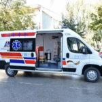 Ново санитетско возило за прилепската болница, донација од амбасадата на СР Германија