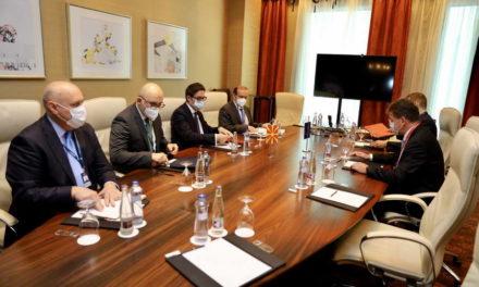 Средба на претседателот Пендаровски со Мирослав Лајчак