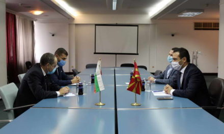 Средба на министерот Бочварски со Амбасадорот на Република Бугарија