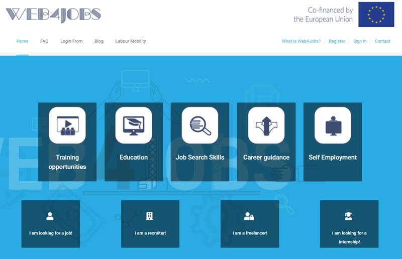 """Креирана платформа """"Web4Jobs"""" за поврзување на млади невработени лица од Балканот"""