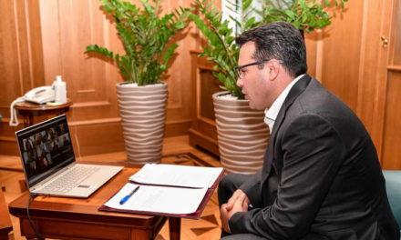 Средба на премиерот Заев, вицепремиерот Битиќи и министерот Бочварски со членовите на Пелагонискиот плански регион