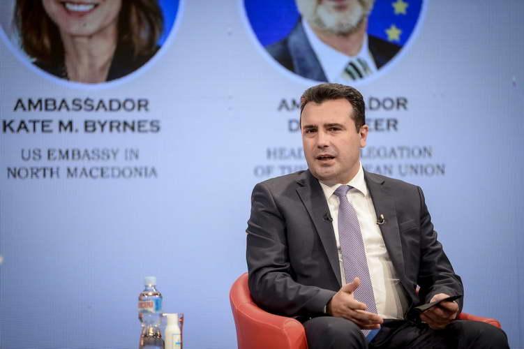 """Заев од Самитот """"Македонија 2025"""": Обезбедуваме сигурност на инвестициите со воспоставување на владеење на правото и борбата против корупцијата"""