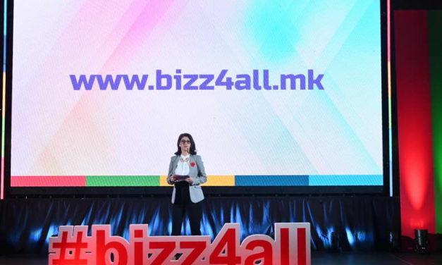 Претставен новиот дигитален продукт за бесплатна поддршка на мали и средни претпријатија – www.bizz4all.mk