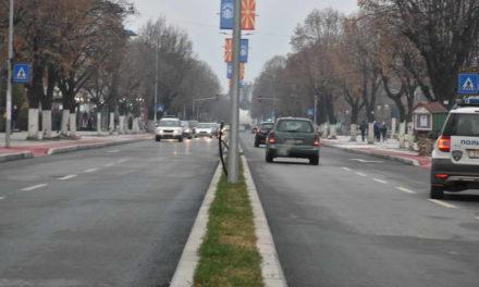 """Градоначалникот Јованоски и премиерот Заев го ставија во функција реконструираниот булевар """"Гоце Делчев"""""""
