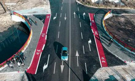 Прилеп: Градоначалникот Јованоски и министерот Бочварски го предадоа во употреба новиот армирано-бетонски мост