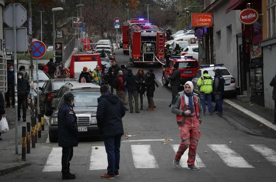 Силна експлозија во центарот на Белград, еден загинат и двајца повредени
