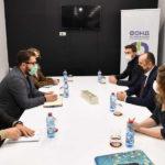 Вицепремиерот Битиќи на работна средба со директорот на ФИТР Петров: Северна Македонија ќе стане регионален старт ап центар каде младите лица ќе може да ги реализираат своите бизнис идеи