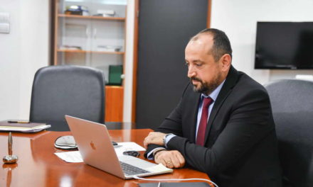 """Вицепремиерот Битиќи на првиот состанок на платформата """"За татковината со љубов""""– Ова е советодавно тело за економски стратешки размислувања за доброто на државата, заедно да креираме одржлива економија на долг рок"""