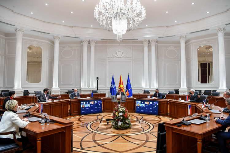 Заев на состанокот со амбасадорите на земјите членки на ЕУ