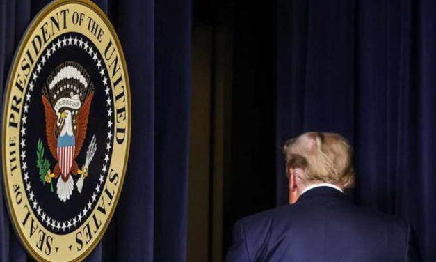 Трамп, оди си од политичката сцена!