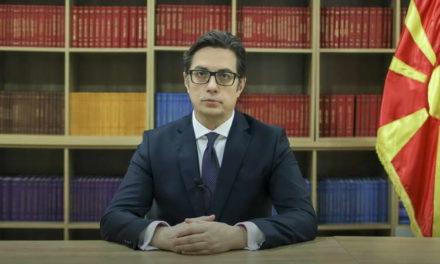 Обраќање на претседателот Пендаровски на првата зимска школа на Меѓународниот семинар за македонски јазик, литература и култура