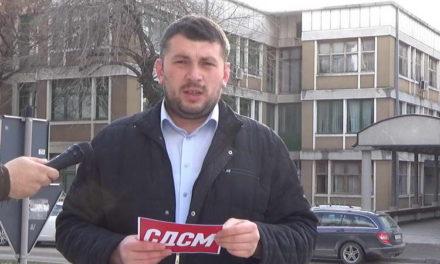 СДСМ Прилеп: Новата кривична пријава против екс градоначалникот Марјан Ристески, доказ за криминалното владеење на ДПМНЕ