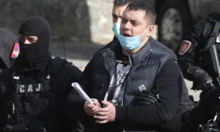 Српската полиција во акција против фудбалските хулигани