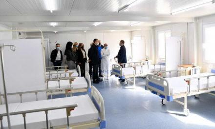 Пуштен во употреба модуларниот ковид центар во гостиварската болница