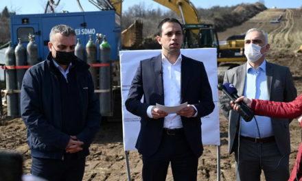 Бочварски-Реџепи: Оваа година завршува изградбата на магистралниот гасовод во Скопје