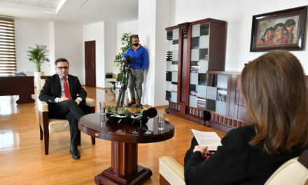 Бесими: Петиот пакет мерки насочен кон закрепнување на економијата, инвестиции и развој