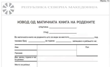 ДЗР: Во Управата за водење на матични книги за една година згрешени 21.957 изводи