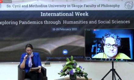 Меѓународната недела на Филозофскиот факултет: Онлајн предавања и дискусии со странски професори за пандемиите