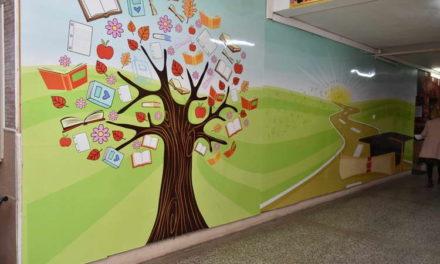 """ООУ """"Климент Охридски"""": Подобрени условите за следење на наставата во централното и подрачното училиште во Мажучиште"""