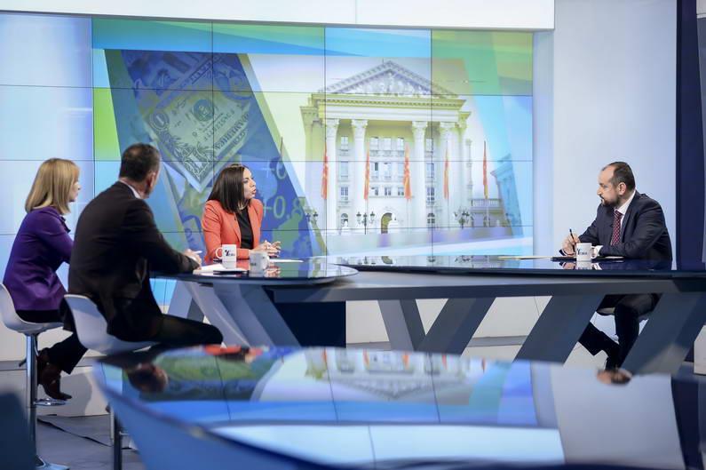 Вицепремиерот Битиќи во Топ Тема: Економијата заздравува, мерките од петтиот пакет носат развој