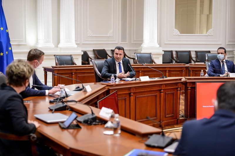 """Средба на премиерот Заев со менаџментот на """"Лидл"""": Германската инвестиција нов стимул за домашната економија"""