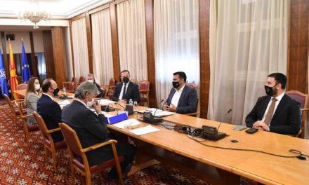 Заев по средбата со лидерите на Алијанса за Албанците и Алтернатива: Имаме усогласен договор за законските решенија за стекнување државјанство